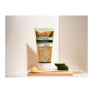 Olive Touch Satin Shimmering Body Cream Gold 200ml