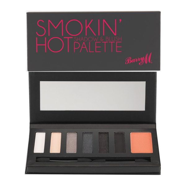 Barry M Smokin Hot Shadow & Blush Palette