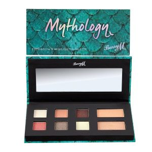 Barry m Mythology eyeshadow & highlighter palette