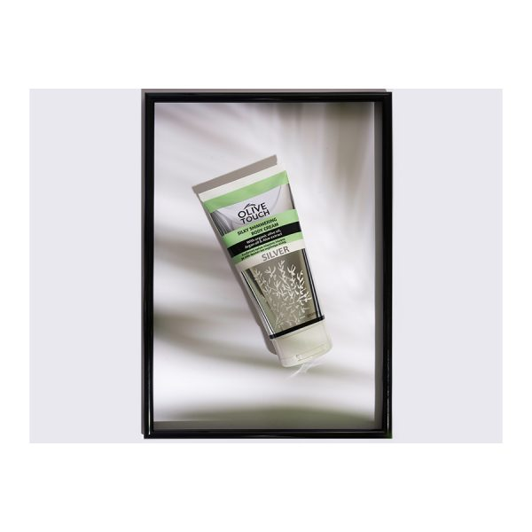 Silky Shimmering Body Cream Silver 200ml
